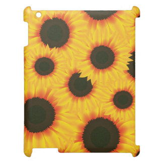 Spring colorful pattern sunflower case for the iPad 2 3 4