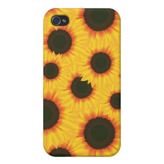 Spring colorful pattern sunflower iPhone 4/4S cover