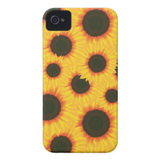Spring colorful pattern sunflower iPhone 4 cover