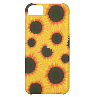 Spring colorful pattern sunflower iPhone 5C case