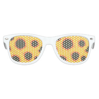 Spring colorful pattern sunflower kids sunglasses