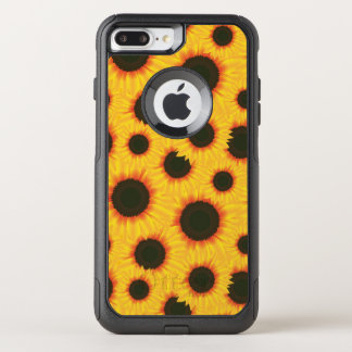 Spring colorful pattern sunflower OtterBox commuter iPhone 8 plus/7 plus case