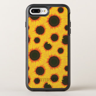 Spring colorful pattern sunflower OtterBox symmetry iPhone 8 plus/7 plus case