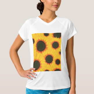 Spring colorful pattern sunflower T-Shirt