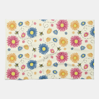 Spring Colors Tea Towel