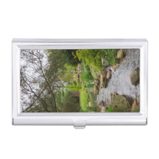 Spring Creek Beauty Business Card Holder