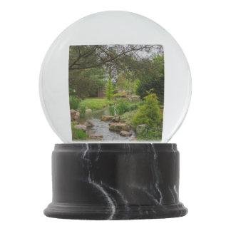 Spring Creek Beauty Snow Globe