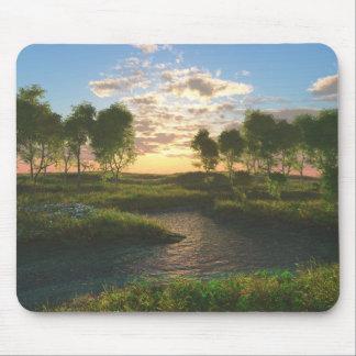 Spring Creek Sunrise Mousepad
