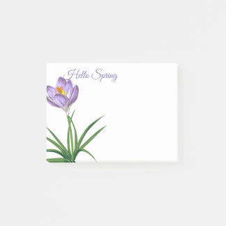 Spring Crocus Post-it-Notes Post-it Notes