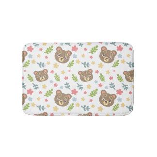 Spring Cute Bear Bath Mat