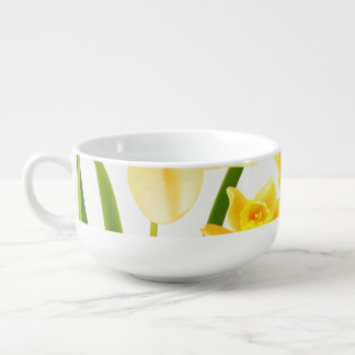 Spring Daffodil Easter Brunch Soup Mugs
