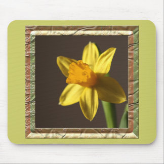 Spring Daffodil Mouse Pad