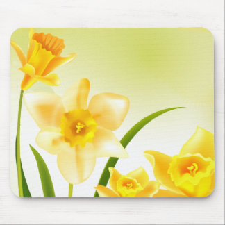 Spring Daffodils. Easter Gift Mousepads