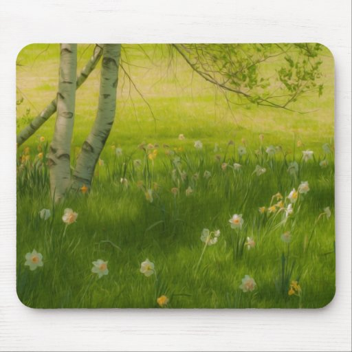 Spring Daffodils Mousepads