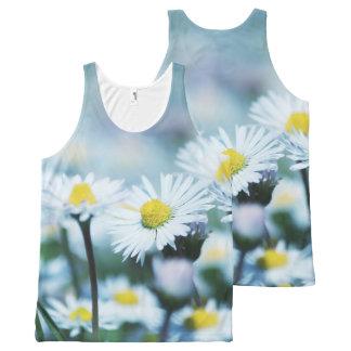 Spring daisy flower All-Over print singlet