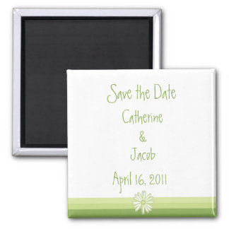 Spring Daisy Save the Date Magnet
