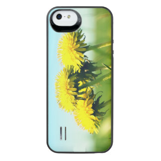 Spring dandelions iPhone SE/5/5s battery case