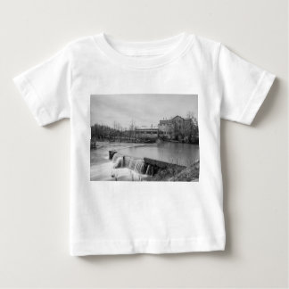 Spring Day At Ozark Mill Grayscale Baby T-Shirt