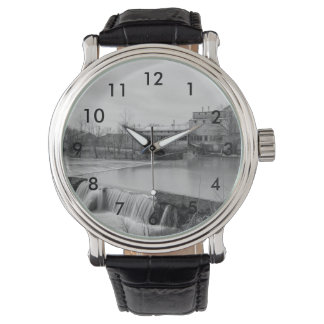 Spring Day At Ozark Mill Grayscale Watch