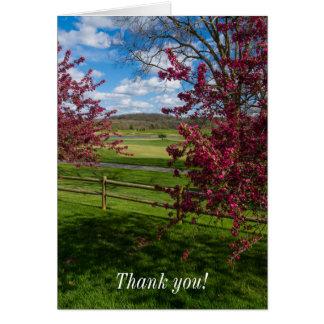 Spring Day In Rivercut Card