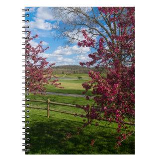 Spring Day In Rivercut Notebook