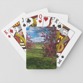 Spring Day In Rivercut Playing Cards