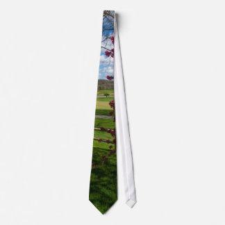 Spring Day In Rivercut Tie