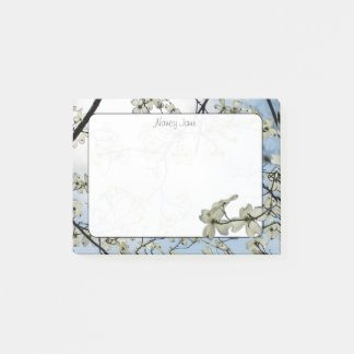 Spring Dogwood Blue Sky Floral Photography Post-it Notes