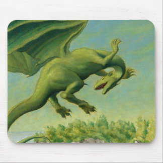 Spring dragon mouse pads