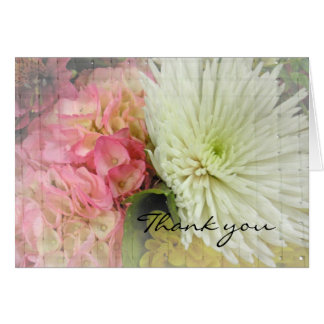 Spring Duet Thank You Note Card