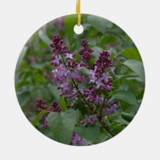 Spring/Easter: Japonica/Lilac Ceramic Ornament