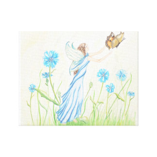 Spring Faery Canvas Print