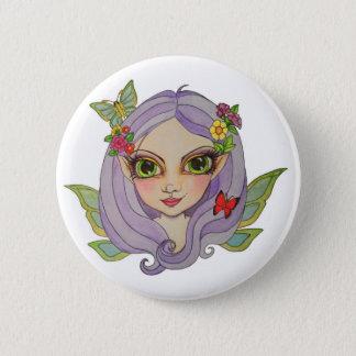 Spring fairy button