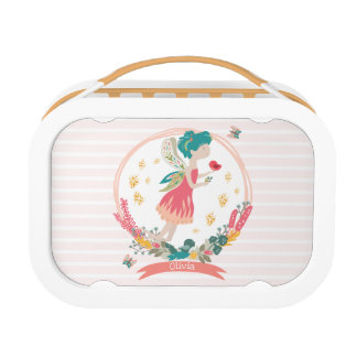 Spring Fairy Personalised Lunch Box
