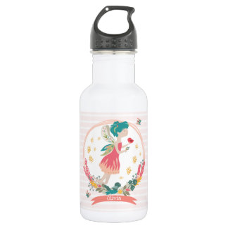 Spring Fairy Personalised Water Bottle