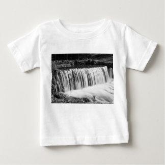 Spring Falls At Hodgson Grayscale Baby T-Shirt