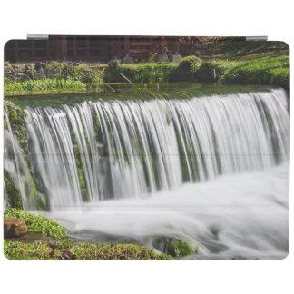 Spring Falls At Hodgson iPad Cover