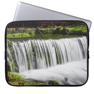 Spring Falls At Hodgson Laptop Sleeve