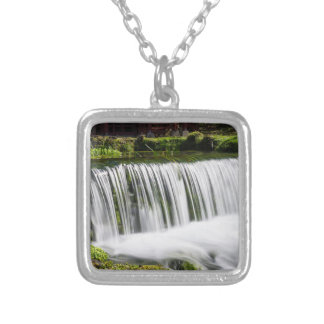 Spring Falls At Hodgson Silver Plated Necklace