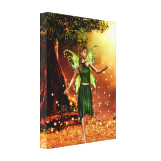 Spring Fantasy Stretched Canvas Prints
