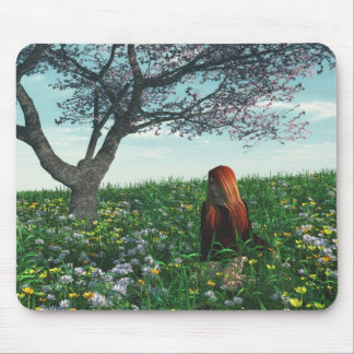 Spring Field Mouse Pad