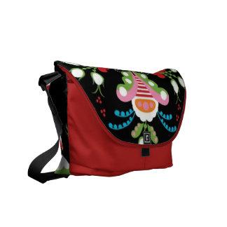 Spring Fiesta Rickshaw Messenger Bag