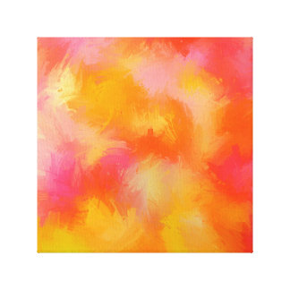 spring fling blooming canvas canvas print