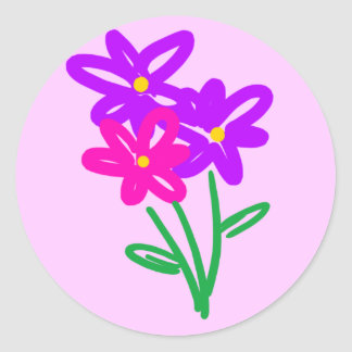 Spring Fling Flowers Sticker
