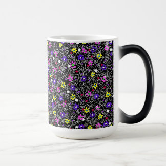 Spring Floral Art Magic Mug