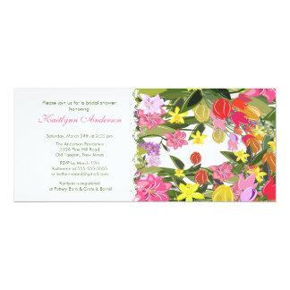 Spring Floral Bridal Shower Invitation