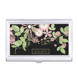 Spring Floral ID190 Business Card Holders