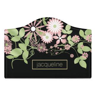 Spring Floral ID190 Door Sign