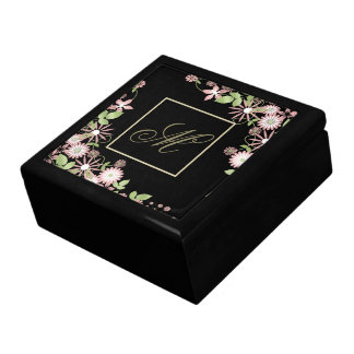 Spring Floral ID190 Large Square Gift Box