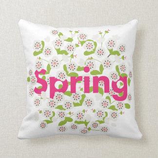 Spring Flower Cushion